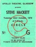 SH 23rd OCT 1979 Glasgow