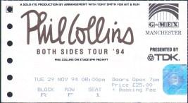 pc ticket manchester 29th nov 1994