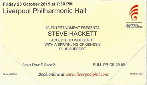 SH Liverpool 23rd Oct 2015