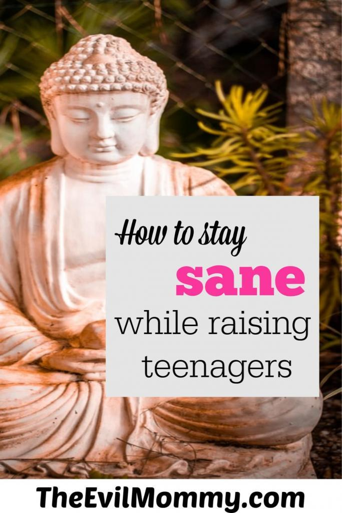 How to stay sane while raising teenagers