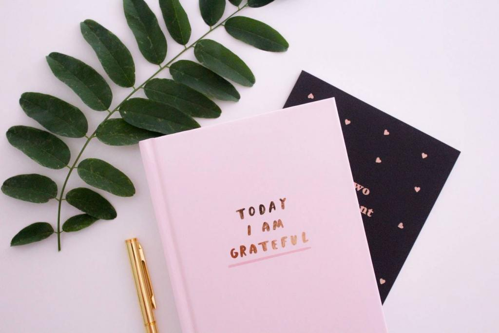 Overwhelmed moms can keep a gratitude journal