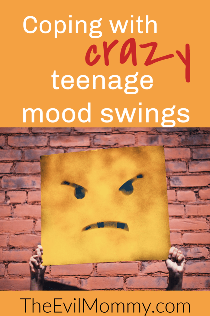 Coping with crazy teenage mood swings