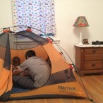 Tent relocation to Colorado for the summer