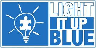 light up blue