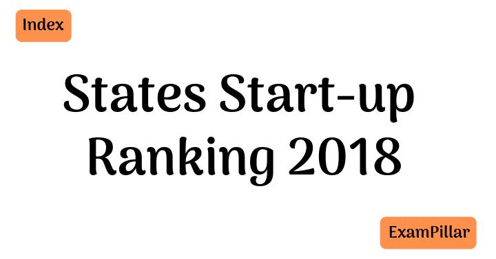 States start-up ranking 2018