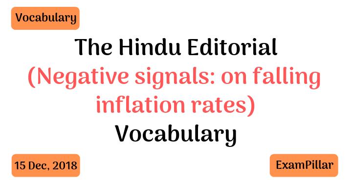 The Hindu Editorial Vocab 15 Dec, 2018The Hindu Editorial Vocab 15 Dec, 2018