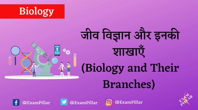 Biology and Their Branches