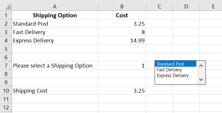 form controls in excel
