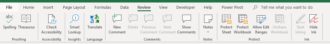 excel 101 what are on the excel ribbons
