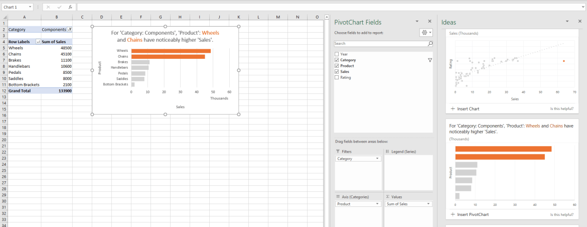 ideas in excel