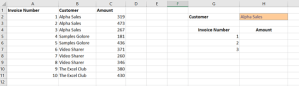 Dynamic positioning of totals in Excel