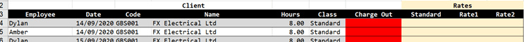 match multiple columns in excel