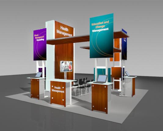20x20 Trade Show Islands Booths Displays Exhibits Boston MA NH ME RI VT CT