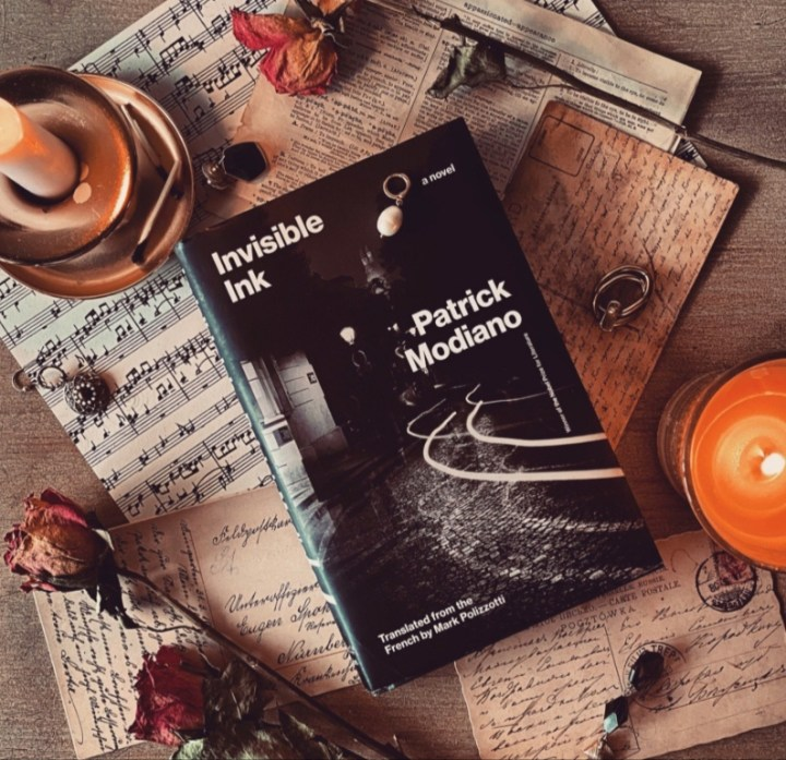 Invisible Ink by Patrick Modiano   Book Review