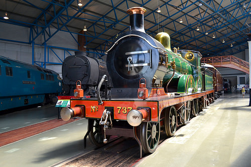 york railway museum train photo