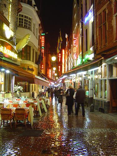 rue de bouchers photo