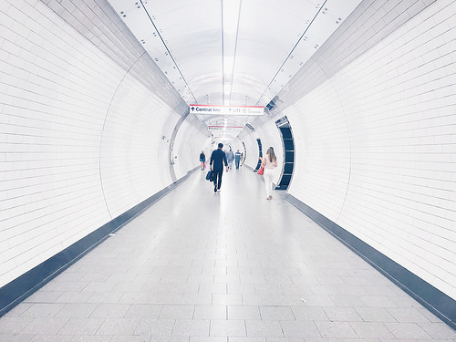 london tube photo