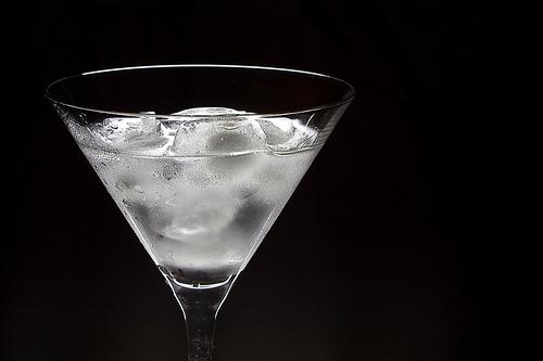 vodka ice photo