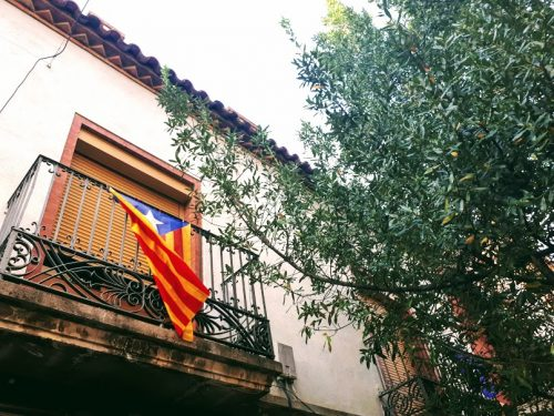 catalan flag photo