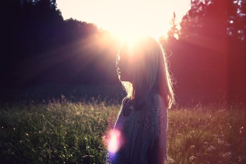 sun skin photo