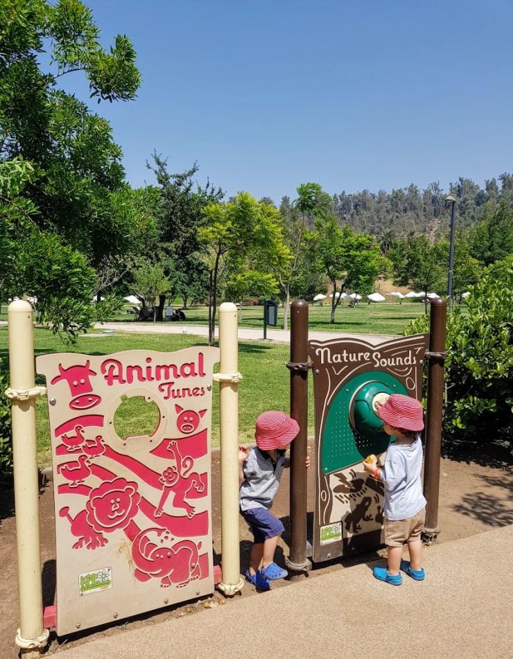 park for children in Santiago