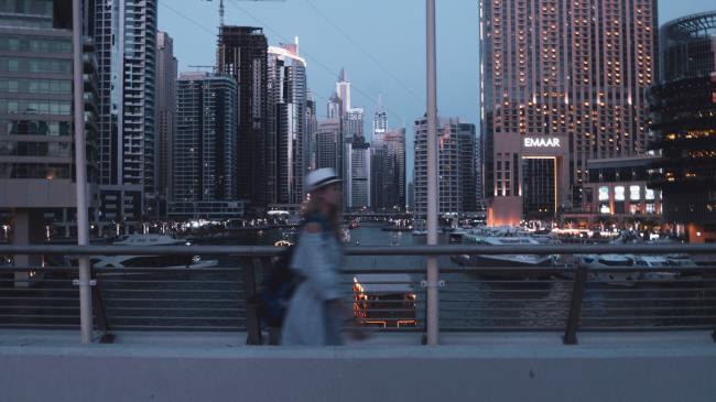 woman moving to Dubai