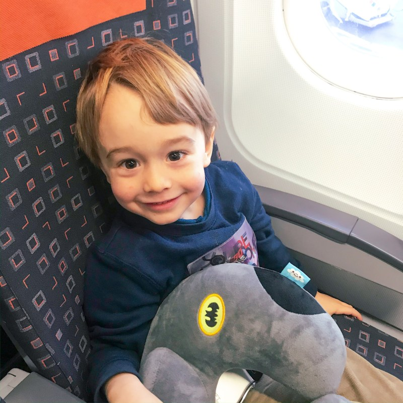 flying with children tips