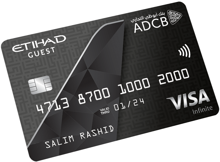 ADCB Etihad Guest Infinite Card