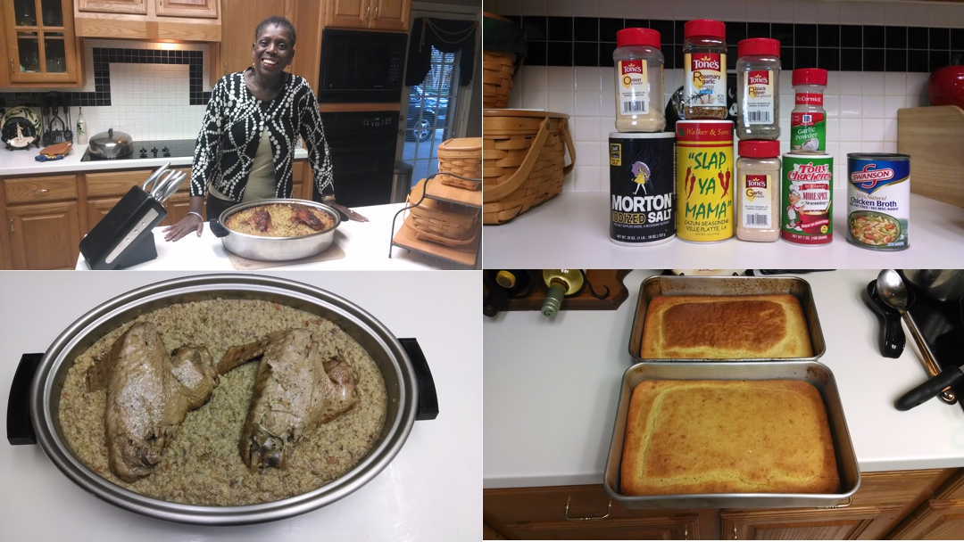 Linda Willies' Cornbread Dressing (Cornbread Stuffing) (VIDEO)