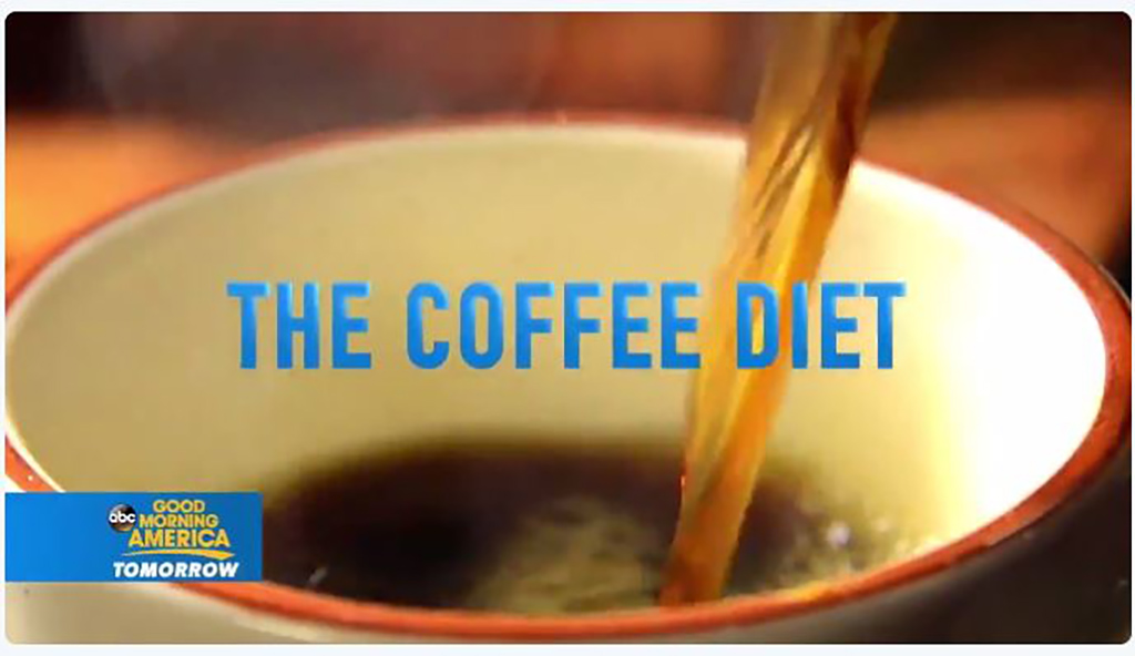 Good Morning America wooing viewers with Coffee Diet (VIDEO)