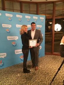 felicia homestars award