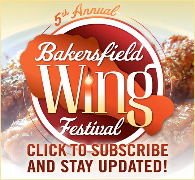 Bakersfield Wing Festival Ad