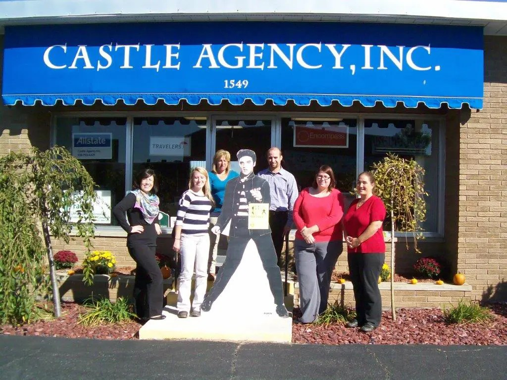 Castle Agency with Chris and Staff