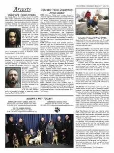 Arrest page
