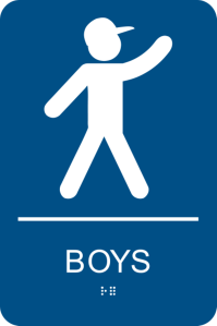 Girl And Boy Bathroom Signs | www.imgkid.com - The Image ...
