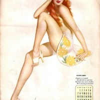 Pin Up Year: 1945 Esquire