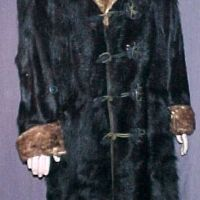 E.O.F. Approved: 1800s Adirondack Black Bear and Brown Buffalo Coat