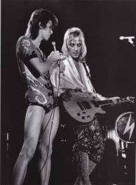 Ziggy Stardust and Mick Ronson