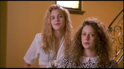 elegantly wasted- sara gilbert and drew barrymore- poison ivy- vintage style inspiration
