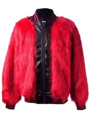KTZ- Fake Fur Bomber Jacket