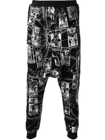 KTZ- Tarot Print Harem Trouser