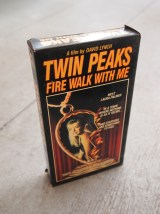 Vintage Twin Peaks Fire Walk With Me VHS - The Eye of Faith Vintage