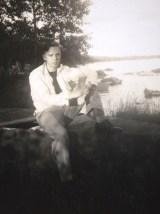 Mystery Date Photograph- The Eye of Faith Vintage