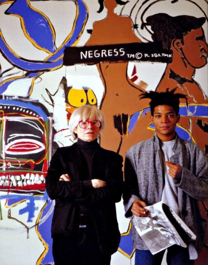 WARHOL WITH BASQUIAT - THE TIME IS NOW - EOF STYLE KING