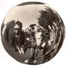 CRAZY FISH EYE GROUP SELFIE- SELFIE CENTERED- THE EYE OF FAITH VINTAGE BLOG