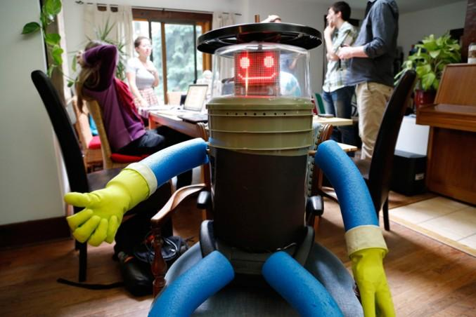 hitchBOT went on its last trip this year.