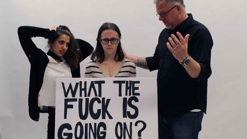 TAs, students and profs are all confused. PHOTO: SARAH KRICHEL
