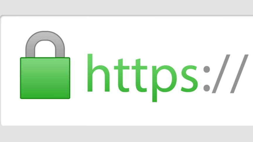 The HTTPS lock one can see at their browser's address bar if a browser uses HTTPS security.