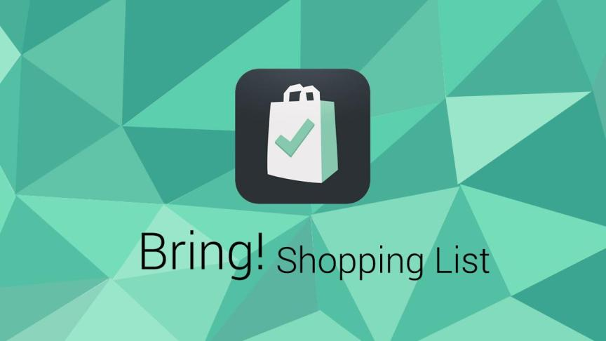 The Bring! logo, a shopping bag with a check mark on it.