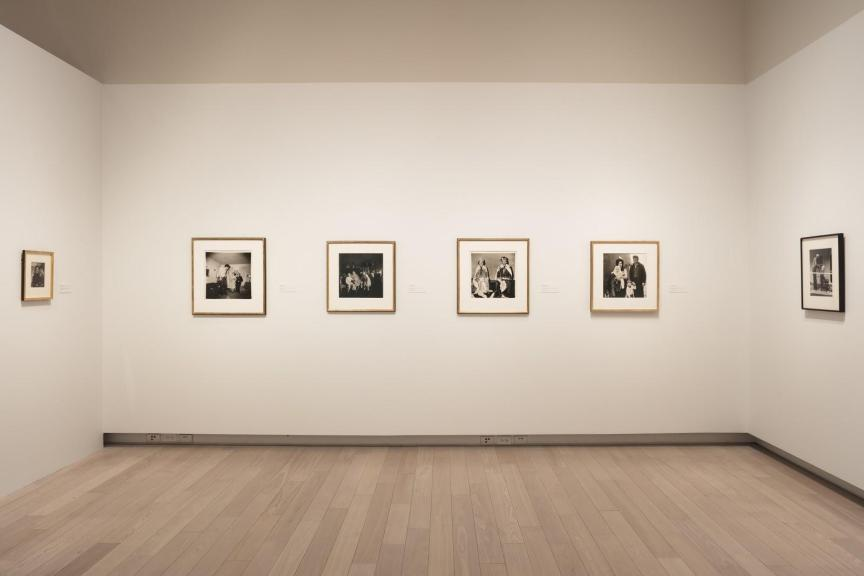 Photographs from the Howard and Carole Tanenbaum Photography collection on display at the Ryerson Image Centre